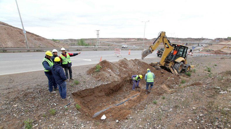 Cráter en Ruta 7: cortarán el tránsito hasta fin de mes en el ramal derivador