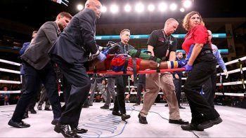 fallecio un boxeador noqueado el sabado pasado en chicago