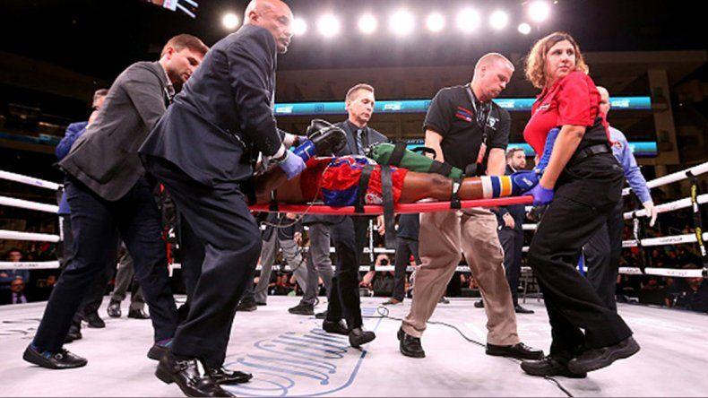 Falleció un boxeador noqueado el sábado pasado en Chicago