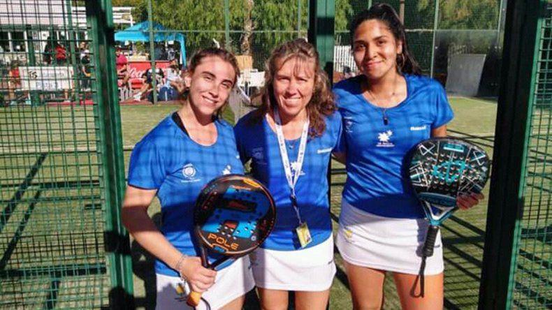 La chica neuquina que clasificó con Argentina a la final del Mundial de Pádel