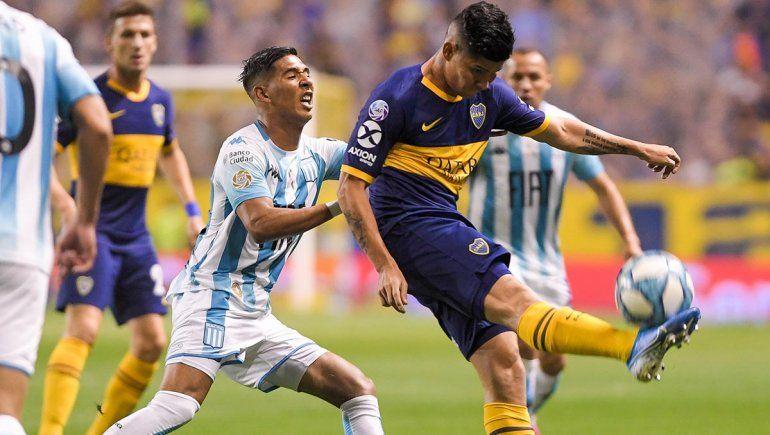 Boca perdió con Racing y se quedó sin invicto