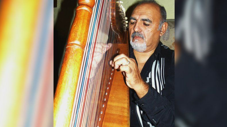 Jucari y un concierto de arpa a beneficio en Plottier