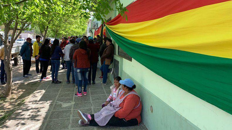 Evo se llevó el 85% del voto boliviano en toda la región