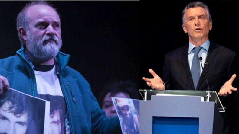 Sergio Maldonado salió al cruce de Macri: Es penoso que un presidente sea tan hipócrita y mentiroso