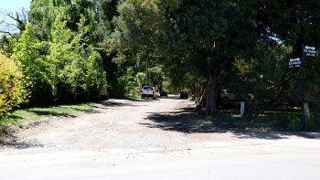 haran obra de asfalto en barrio belgrano
