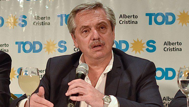 Alberto: Ahora espero que Macri no se enoje y libere el dólar