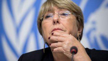 ddhh: piden a bachelet que envie observadores internacionales
