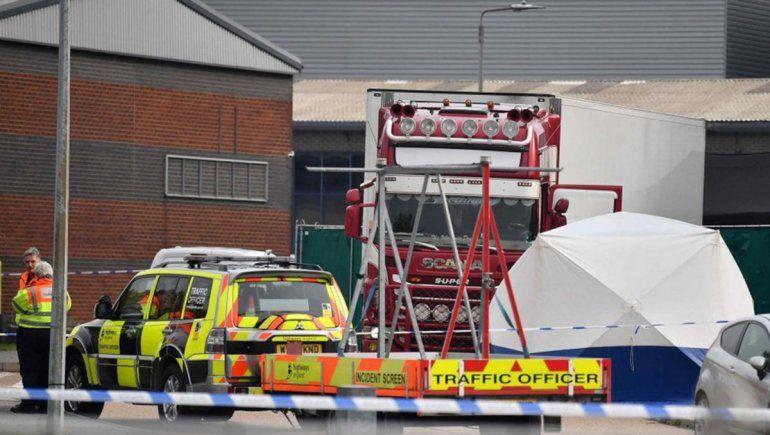 Essex: murieron congelados los 39 inmigrantes