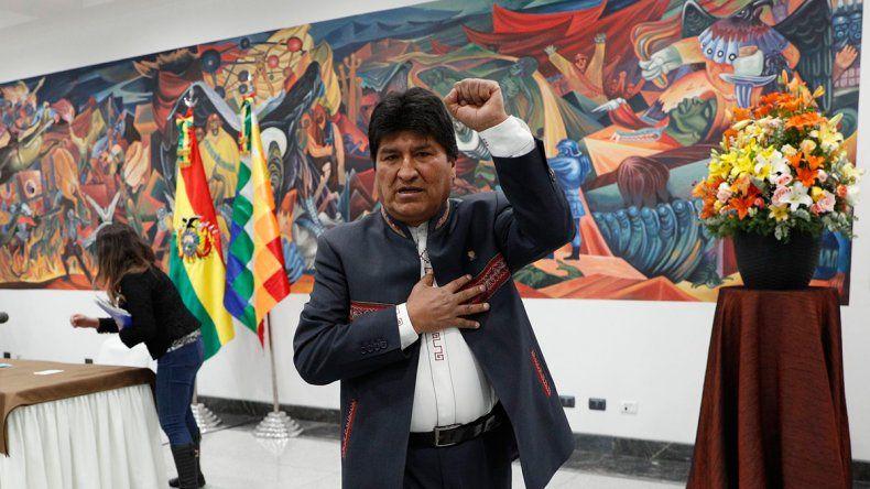 México le ofreció asilo político a Evo Morales