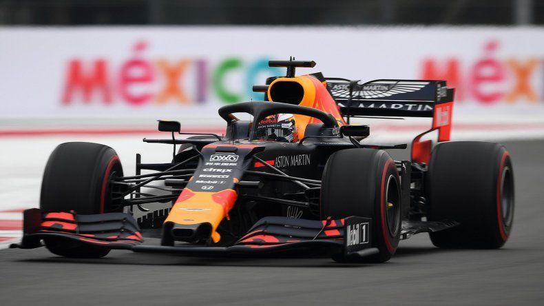 Max Verstappen fue el más rápido de la Fórmula 1 en México