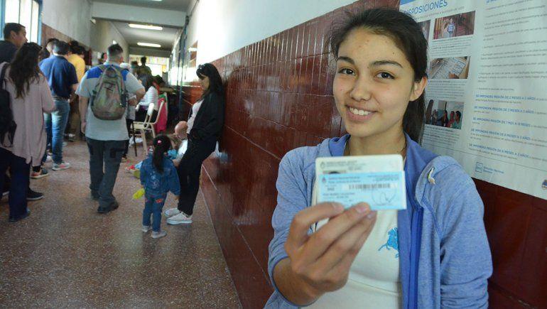 El debate motivó a los adolescentes a votar por primera vez