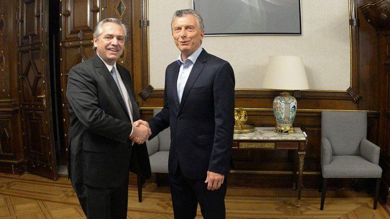 Comenzó la transición: Macri y Alberto se reunieron en Casa Rosada