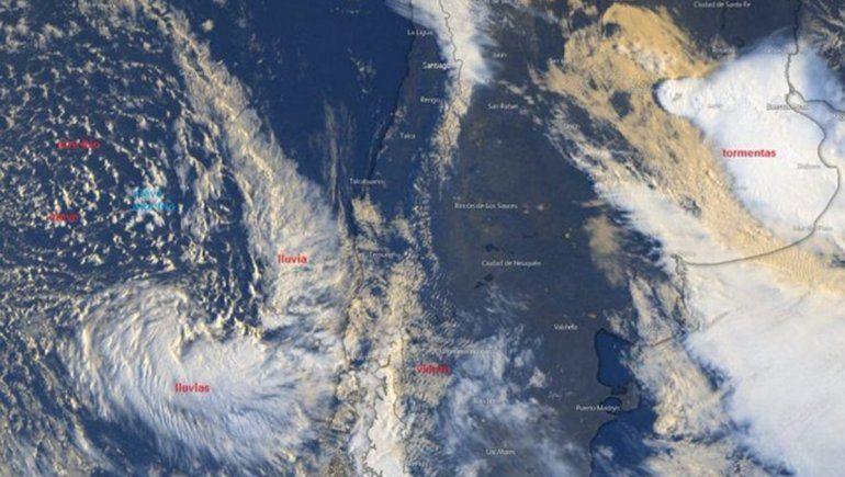 ¿Esta semana habrá viento en el Alto Valle y frío invernal en cordillera?