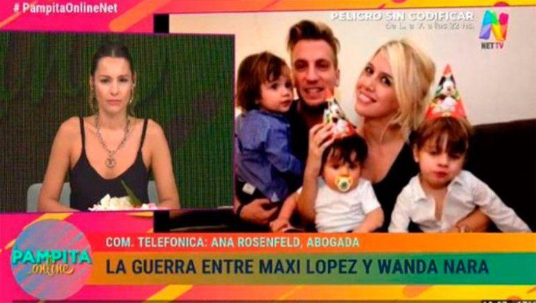 Pampita estalló contra Maxi López y defendió a Wanda Nara