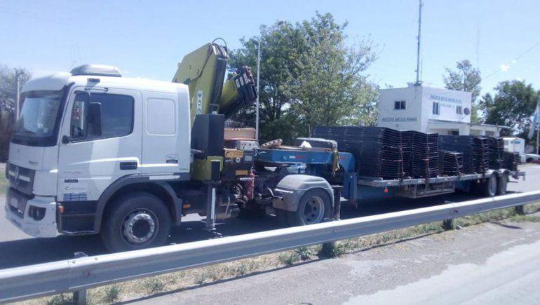Conducía un camión a Neuquén con 1,7 gramos de alcohol en sangre