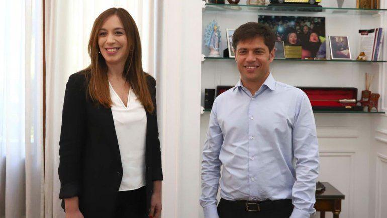 Kicillof y Vidal se reunieron para iniciar la transición