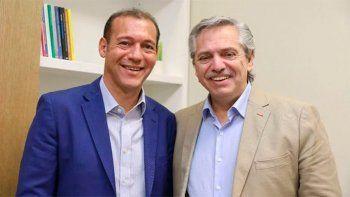 gutierrez declaro huesped de honor al presidente alberto fernandez