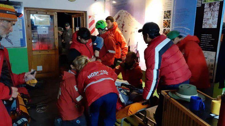 Rescate en el Lanín: Fue clave la decisión del guía y la asistencia para que Cecilia esté viva