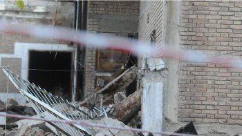 nene murio aplastado por una pared en construccion