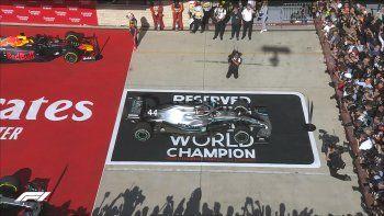 lewis hamilton logro su sexto titulo en la formula 1