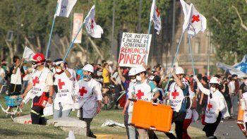 chile: la cruz roja dice que hay mas de 2500 heridos