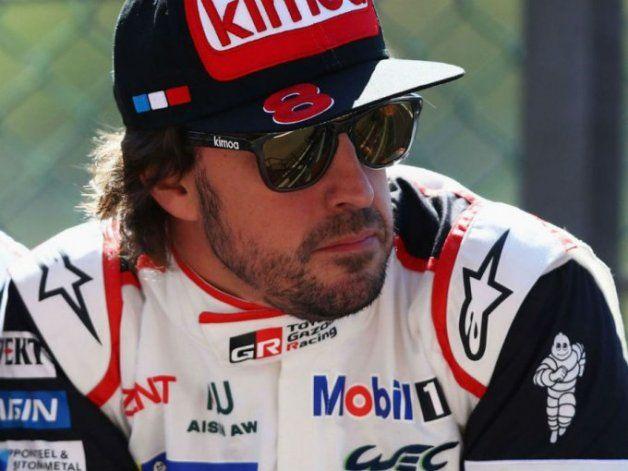 Fernando Alonso estará el próximo lunes en Buenos Aires