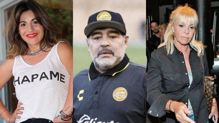 Gianinna grabó a Diego tragando su vómito y Claudia amenazó con publicarlo