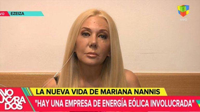Nannis volvió recargada y pidió que investiguen los negocios de Caniggia con el Gobierno