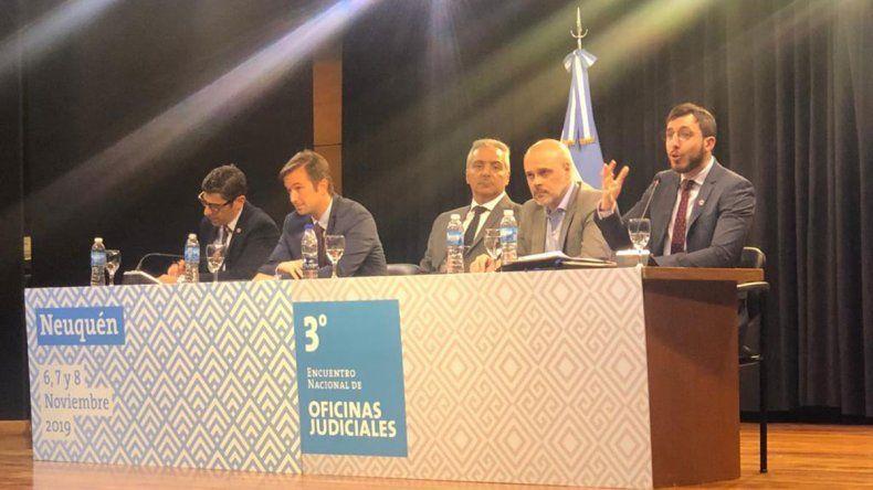 Ya se realiza en Neuquén el tercer encuentro nacional de Oficinas Judiciales