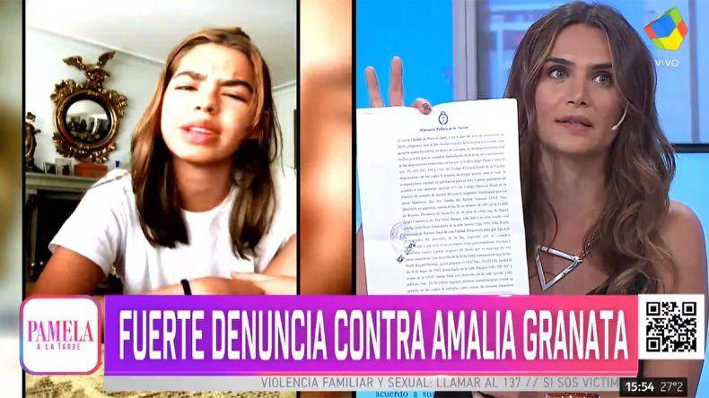 Tras ser acusada de pedófila, Granata se defendió y apuntó contra un programa de televisión