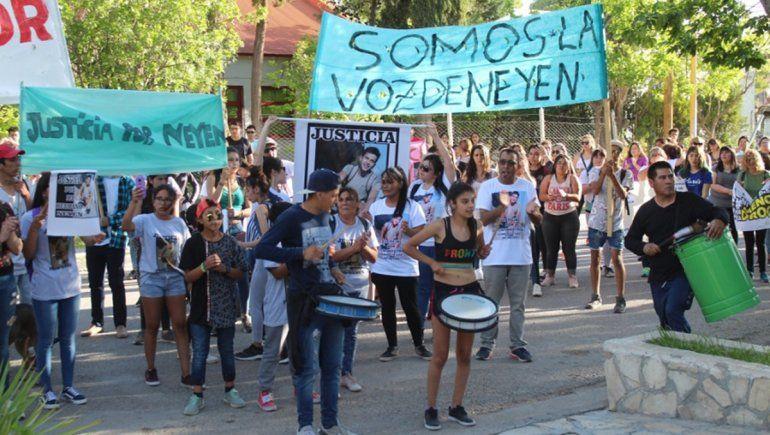 Marcharon en Centenario para pedir Justicia por Neyen