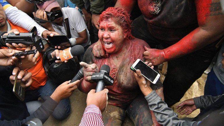 Opositores a Evo casi matan a una alcaldesa