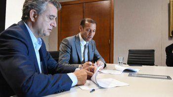 gutierrez firmo convenios para areas rurales por u$ 24 millones