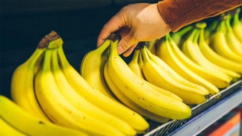 ¿Por qué el precio de la banana se incrementó casi un 50% en Neuquén?