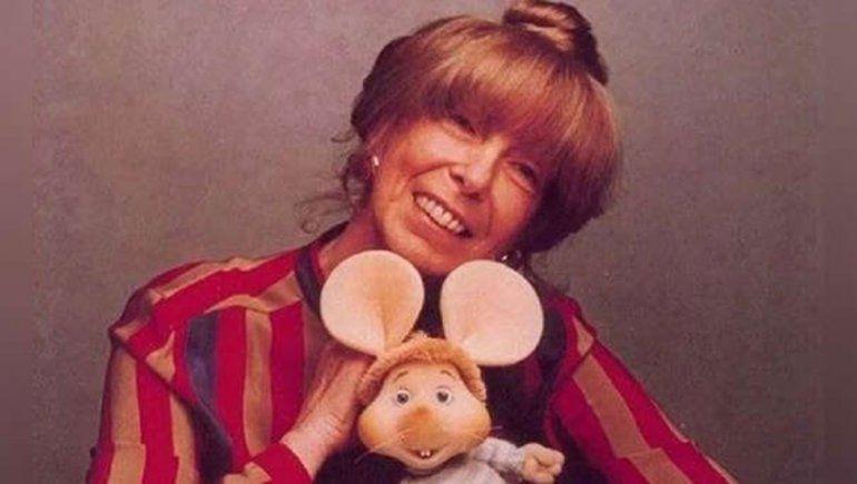 Dolor: murió la creadora del Topo Gigio