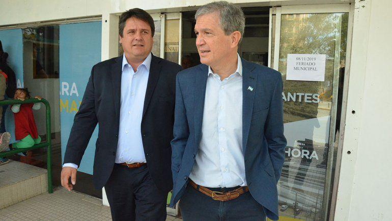 Monzani le entregará el municipio a Gaido con tres mil millones de pesos