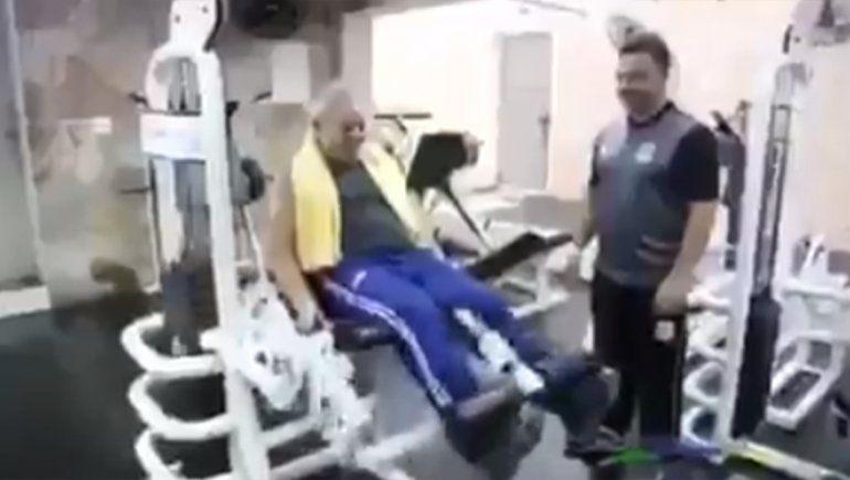 Con un video, Lula se mostró a lo Rocky antes de su liberación