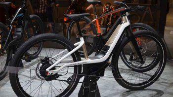 harley-davidson presenta sus primeras bicicletas electricas