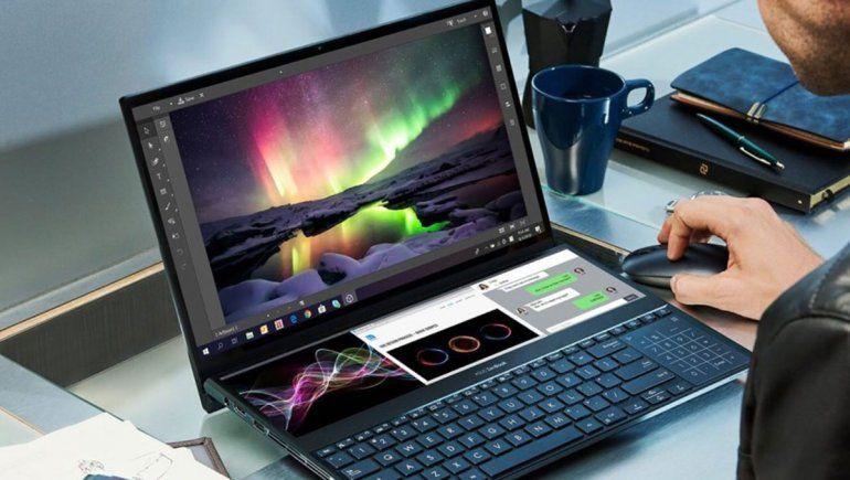 ASUS presenta ZenBook Pro Duo con dos pantallas de alta resolución