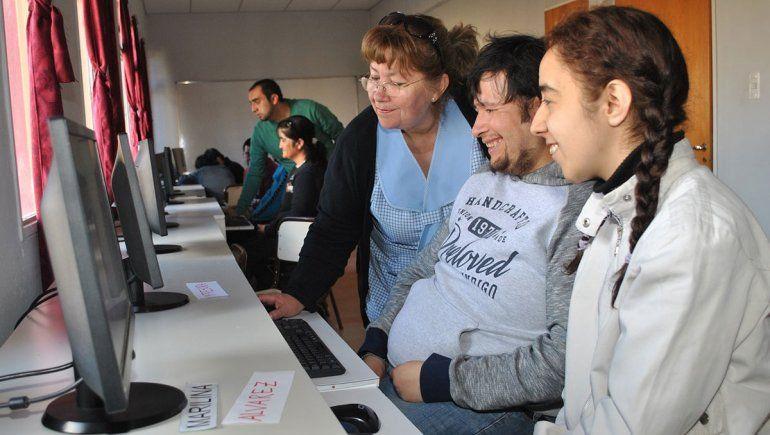 Un taller inclusivo de informática hace escuela en Zapala