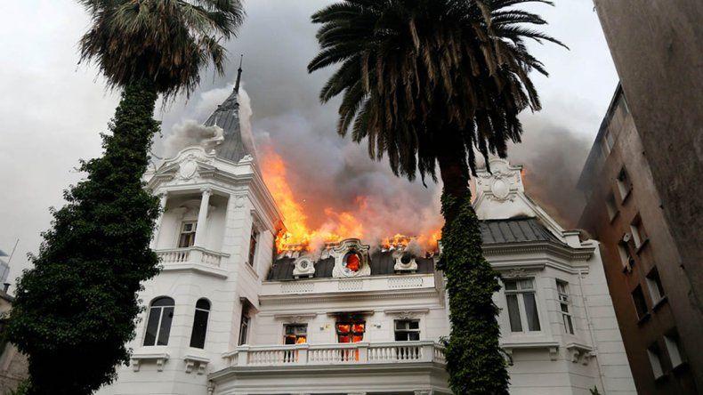 La Universidad Pedro de Valdivia fue centro de los ataques de encapuchados