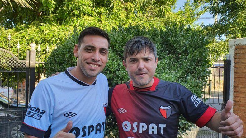 El crack neuquino Matías Sosa y el popular sabalero, amigos por Colón, sueñan con verlo juntos campeón