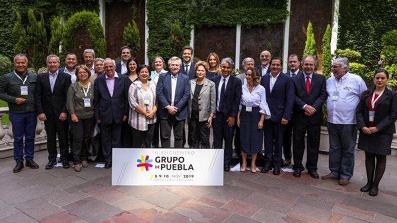 Alberto Fernández celebró libertad de Lula y encabezó la reunión del grupo Puebla
