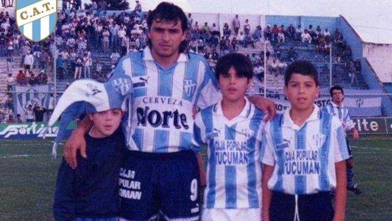 Mirá el recordado hat-trick en La Visera del goleador al que hoy llora Cipo y el fútbol