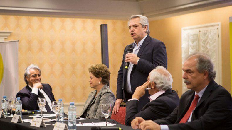 Alberto Fernández llamó a poner de pie a América Latina