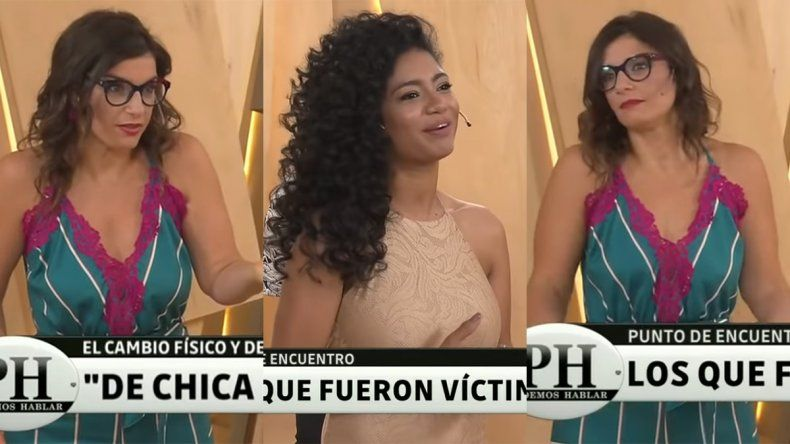 Kate Rodríguez contó en PH que se considera un patito feo y Dalia Gutmann se indignó