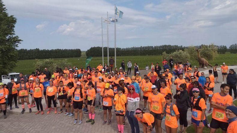 Más de 150 competidores participaron en una nueva edición del Chañar Corre