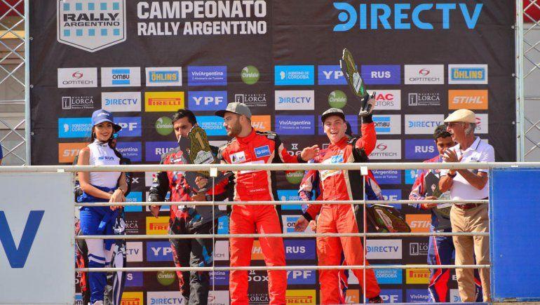 En el nombre del padre: Martín Suriani campeón en el Argentino de Rally
