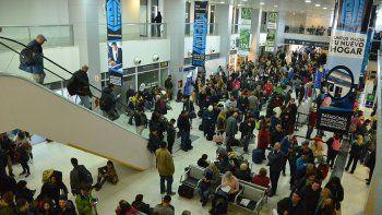 el aeropuerto tuvo un crecimiento de usuarios del 20 por ciento