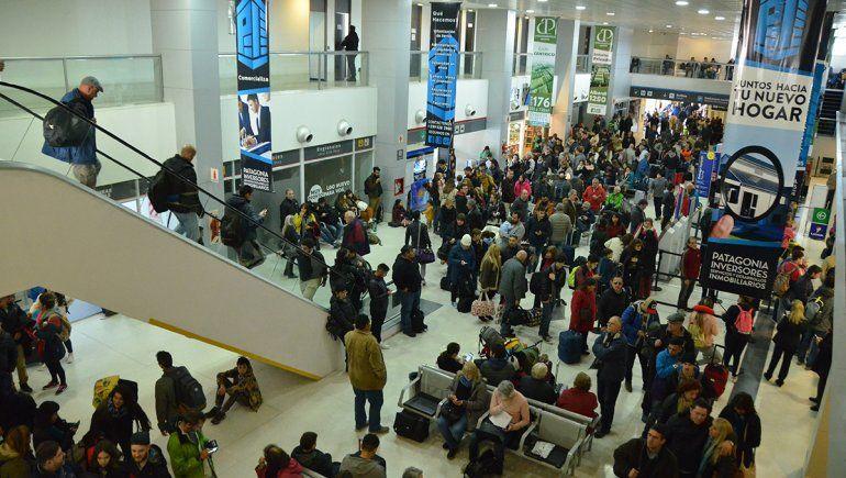 El aeropuerto tuvo un crecimiento de usuarios del 20%